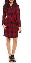 Pendleton Menzies Tartan Plaid Shirt Dress