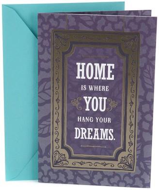 Hallmark New Home Congratulations Greeting Card
