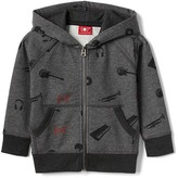 Gap babyGap x (RED) cozy zip hoodie