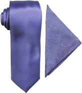 Jf J.Ferrar JF Tie and Pocket Square Set