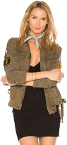 Pam & Gela X REVOLVE Shirt Jacket in Green. - size XS (also in )