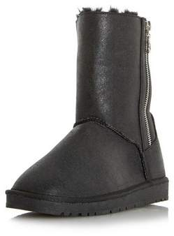 Dorothy Perkins Womens *Head Over Heels By Dune Black 'Ricki' Flat Boots, Black