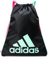 adidas Black & Pink Burst Sack Pack