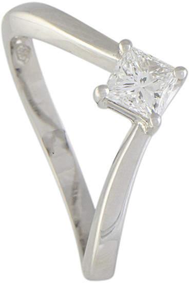 Damiani Platinum 0.54 Ct. Tw. Diamond Ring