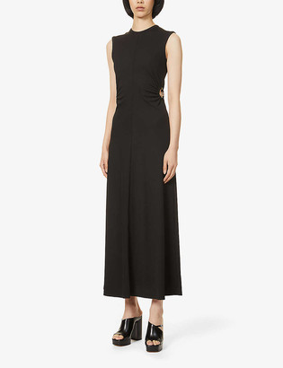CHRISTOPHER ESBER Orbit Fran cut-out stretch-knitted maxi dress