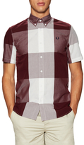 Fred Perry Magnified Cotton Gingham Sportshirt