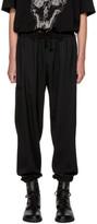 Yohji Yamamoto Black Twill Trousers