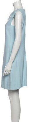 Narciso Rodriguez 2015 Mini Dress Blue