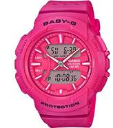 Casio Baby-G – Women's Analogue/Digital Watch with Resin Strap – BGA-240-7AER