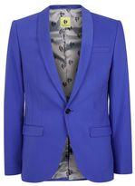 Topman NOOSE & MONKEY Bright Blue Suit Jacket