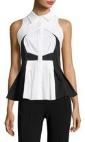 Antonio Berardi Cotton Button-Front Blouse