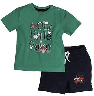Salt&Pepper Salt and Pepper Baby Boys' B Set Little Farm uni Print Clothing