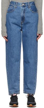 Levi's Levis Blue High Loose Taper Jeans