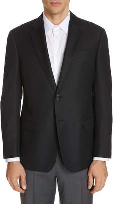 Emporio Armani Trim Fit Wool Blazer
