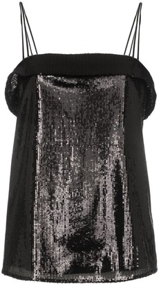 Deitas Sequin Cami Top