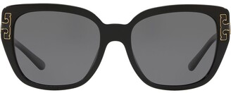 Tory Burch Square Frame Sunglasses