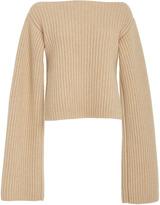 Khaite Ribbed-Knit Cashmere Sweater