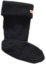 Hunter Black Fleece Welly Socks Black