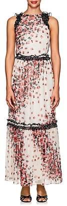 Laura Garcia Collection Women's Gallanah Floral Silk Dress