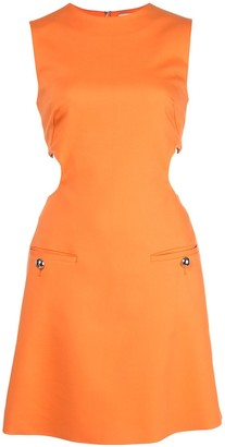 Sara Battaglia Cut Out Detail Dress