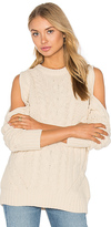 Endless Rose Cut Out Sleeve Sweater