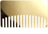 go-comb Brass Leaf & Mirror Comb