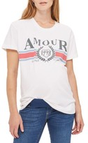 Topshop Women's Amour Maternity Tee