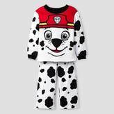 PAW Patrol Toddler Boys' PAW Patrol® Marshall 2-Piece Fleece Pajama Set - White