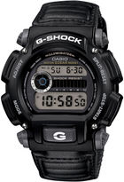 G-Shock G SHOCK Mens Black Nylon Strap Sport Watch DW9052V-1