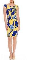 Antonio Melani Katherine Off-the-Shoulder Sleeveless Knit Dress