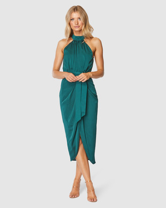 Pilgrim Women's Green Midi Dresses - Addy Midi Dress - Size One Size, 6 at The Iconic