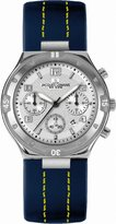 Jacques Lemans Dover 1-1484B 39mm Stainless Steel Case Leather Mineral Men's & Women's Watch