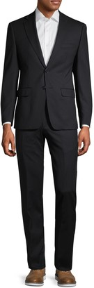 Calvin Klein Extra Slim Fit Classic Wool Suit
