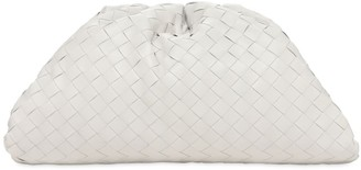 Bottega Veneta The Pouch Intrecciato Leather Clutch