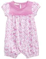 First Impressions Daisy-Print Cotton Romper, Baby Girls, Created for Macy's