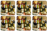 Portmeirion Artisanal Wine Coasters Set of 6