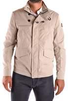 Refrigiwear Men's Beige Polyamide Outerwear Jacket.