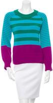 Kate Spade Tri-Color Striped Sweater