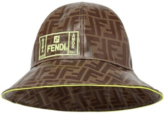 Fendi Kids FF logo bucket hat