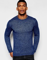 United Colors Of Benetton United Colours Of Benetton Crew Neck Knitted Jumper