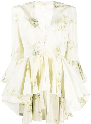 Brock Collection Quaid floral-print ruffled jacket