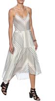 Hazel Stripe Midi Dress