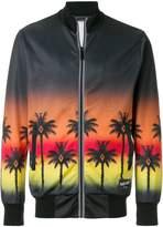 Marcelo Burlon County of Milan palm print bomber jacket