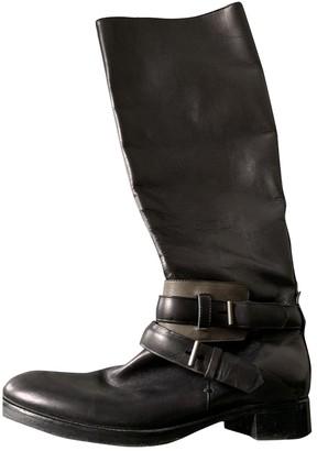 Reed Krakoff \N Black Leather Boots