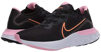 Nike Renew Run (Black/Orange Pulse/White/Pink) Women's Running Shoes