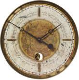 """Uttermost Leonardo Script 18"""" Cream Wall Clock"""