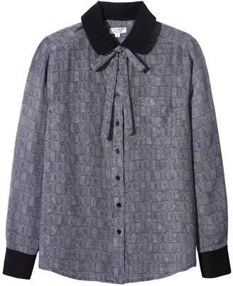 Somerville . Le Classic Silk Shirt With Necktie - Little Love