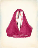 Hollister Strappy Halter Bralette With Removable Pads