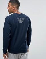Emporio Armani Sweat With Back Logo