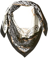 BCBGeneration Patched Paisley Square Scarves